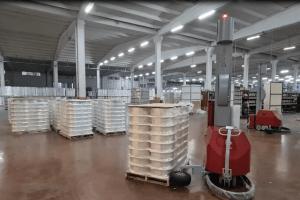 Polyester İplik Palet Streçleme Makinası